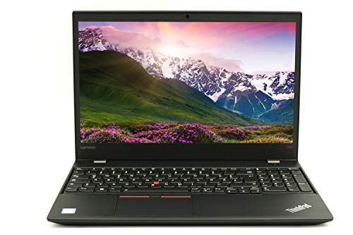 Lenovo ThinkPad T570 |Business Notebook| 15,6 Zoll 1920x1080 Intel Core i5-6-Gen 8 GB RAM 240 GB SSD Windows 10 Pro Tastatur DE | 1,97 kg schwatz (Generalüberholt)