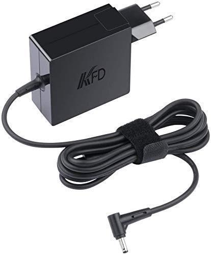 KFD 65W Laptop Adaptador Cargador Portátil para ASUS F555L F555 F554L F554 F552C F551C F551CA F551M F550C F751L X555L X555LA X555 X550C X551M X551CA X554L X554 X451M X401 R503U X54C X53E 19V 3,42A