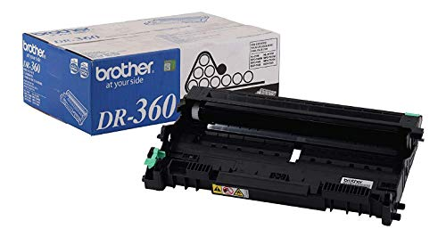 Brother Genuine Drum Unit, DR360, Seamless Integration, Yields Up to 12,000 Pages, Black