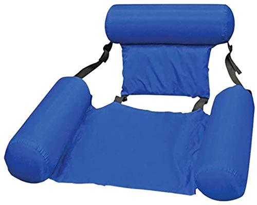 Asigo PVC Verano Inflable Plegable Flotante Fila Piscina Agua Hamaca colchón de Aire Playa Deportes acuáticos sillón, fácil de Llevar, Tipo 12