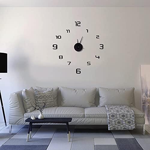 EUROXANTY Reloj Pared Adhesivo | Reloj de Pared DIY | Diseño Moderno...