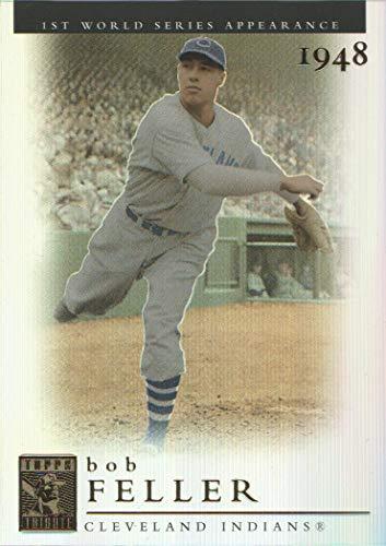 2003 Topps Tribute Baseball World Series #95 Bob Feller 48