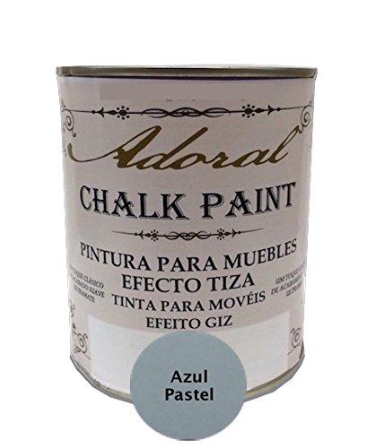 Pintura A La Tiza Azul Pastel Marca ADORAL