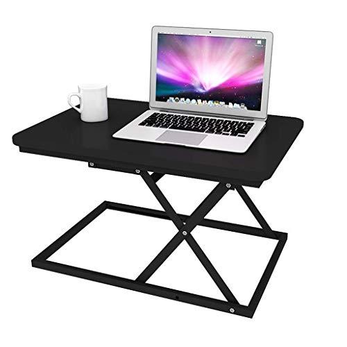 Altura ajustable de pie para escritorio móvil ergonómico sentado de pie soporte de mesa escritorio de computadora estación de trabajo plegable escritorio