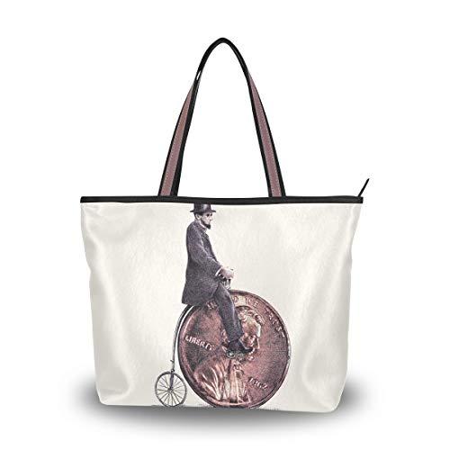 LORONA - Bolso de mano de lona para mujer, diseño de bandolera,...
