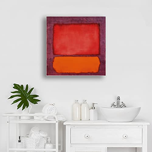 Mark Rothko Lienzo de color abstracto Arte de la pared Posters e...