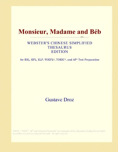 Monsieur, Madame and Béb (Webster
