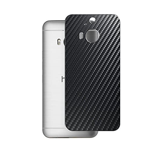 VacFun 2 Pezzi Pellicola Protettiva Posteriore - Nero, compatibile con HTC M9 Plus M9+ Skin Peau (Non Vetro Temperato Protezioni Schermo Cover Custodia) Back Film Protettivo