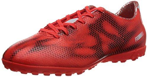 adidas F10 Turf, Scarpe da Calcio Uomo, Rosso (Solar Red/Ftwr White/Core Black), 44.6666666667 EU