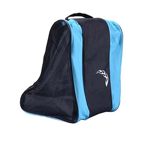 Black Temptation Skate Bag - Sac pour Transporter des Patins à Glace, Patins à roulettes, Patins à Roues alignées pour Enfants/Adultes, G