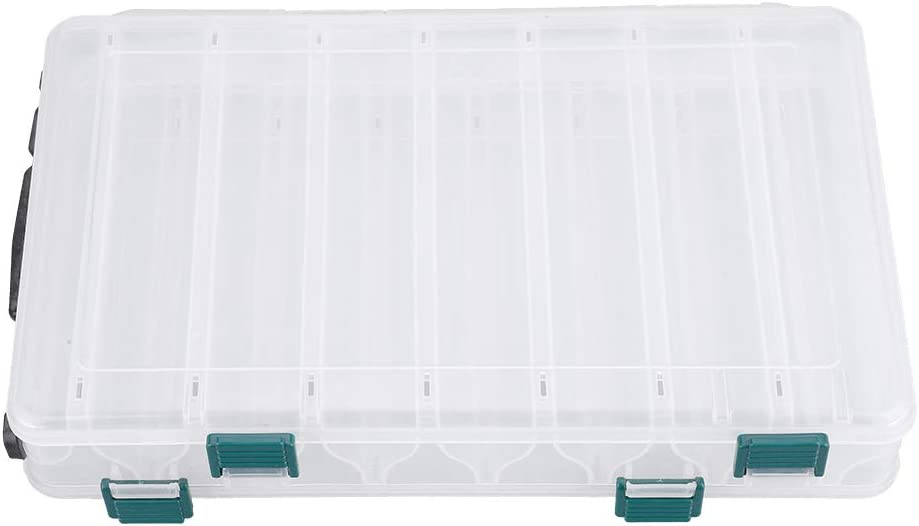 Many popular brands SOONHUA Shipping included Tackle Storage Trays with B Plastic Fishing Double-Sided