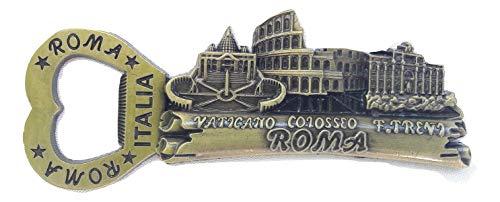 Souvenir Gift Fridge metal Magnet Italy Rome Vatican/Colosseum/trevi Fountain