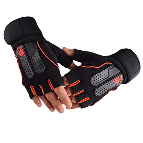 Tree-on-Life Gewichtheben-Turnhallen-Eignungs-Workout-Trainings-Übungs-halbe Handschuhe der Männer