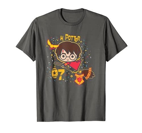 Harry Potter H. Potter 07 Quidditch Chibi Camiseta
