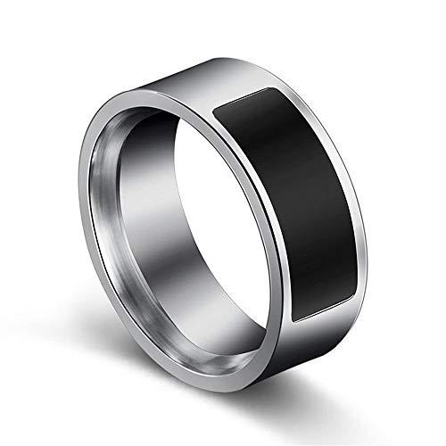 Fesjoy Anillos Inteligentes NFC Multifuncional Impermeable A Prueba de Agua Anillo Inteligente Finger Wear Digital Ring...