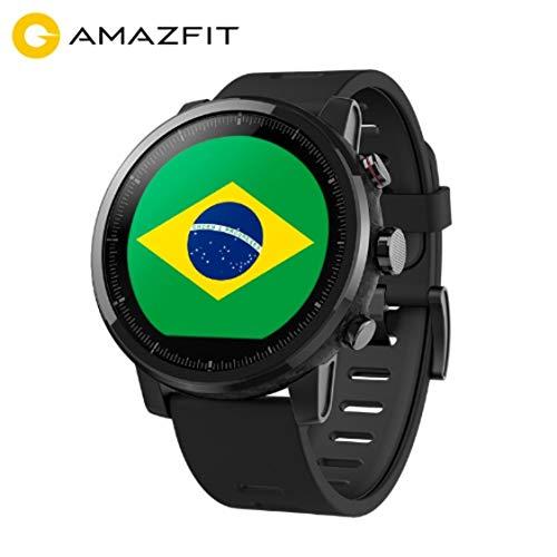 Relógio Huami Amazfit 2 Stratos, Smartwatch - GPS, MONIT. CARDÍACO, A PROVA D'ÁGUA, Pronta Entrega