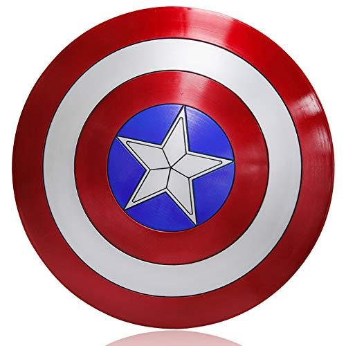 ZYER Escudo de Vestuario de Capitán América, Réplica De Marvel Prop,Capitán de América, Talla única para Adulto,