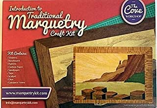 Giant's Causeway: Traditional Marquetry Craft Kit by Cove Workshop