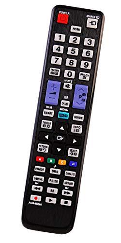 ALLIMITY AA59-00508A Fernbedienung Ersatz für Samsung TV UE22D5010 UE27D5010 UE32D5520 UE37D5520 UE37D5700 UE40D5500 UE46D5520 UE46D5700 UE37D5500 UE40D5520 UE40D5700 UE46D5500