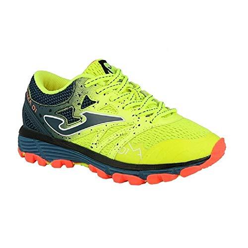 Joma Sima JR 811 Fluor- Zapato de Trail Running para niños - J.SIMAS-811 (EU 38 - CM 24.5 - UK 5)