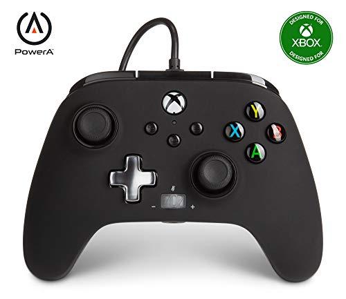 Mando con Cable Mejorado Powera Para Xbox. En Negro