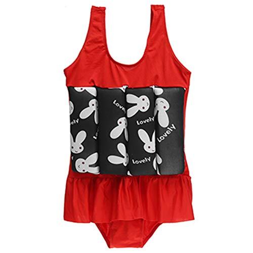 Traje de baño de una sola pieza de flotabilidad Chaleco de entrenamiento de natación para niña, aprender a nadar de seguridad de verano, piscina de playa, traje de baño flotante ropa de playa