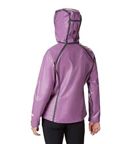 Columbia Women's Outdry Ex Blitz Waterproof Jacket, Wild Iris, Medium