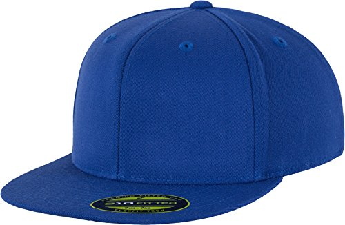 Flexfit Erwachsene Mütze Premium 210 Fitted, blau (royal), S/M