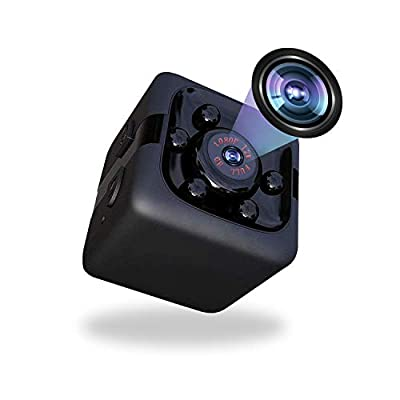 Mini Spy Camera 1080P Hidden Camera Portable Spy Cam with Night Vision and Motion Detection Perfect Indoor Covert Security Camera for Home and Office Hidden Spy Cam (1080P)