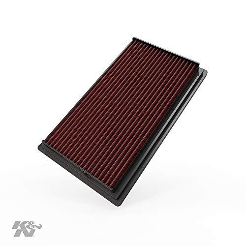 K&N 33-2031-2 Filtro de Aire Coche, Lavable y Reutilizable