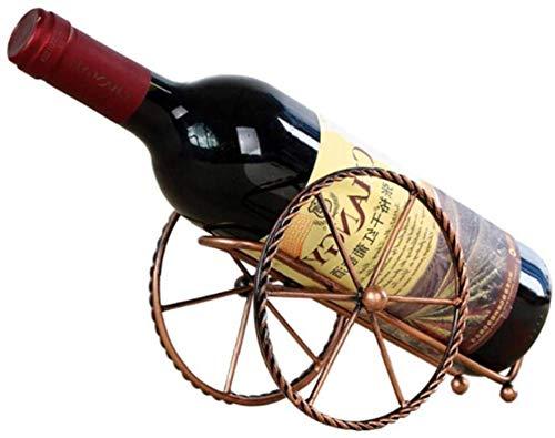 Estante de vidrio de vino, Titulares de botellas de vino, Soporte de exhibición de vino tinto, Estante de almacenamiento de vino de metal, Decoración para el hogar
