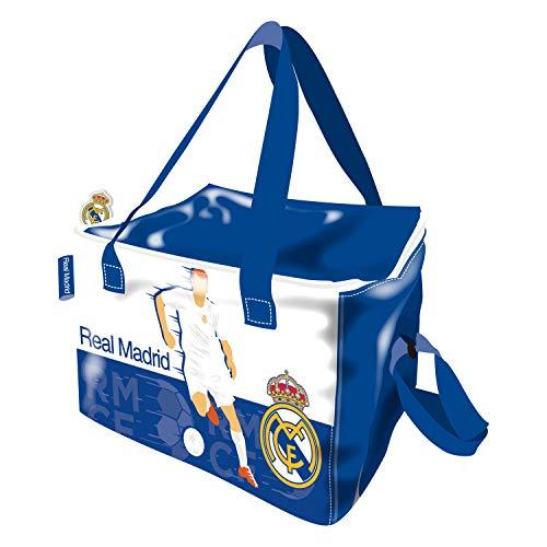 ARDITEX RM13738 Bolsa isotérmica 22.5x15x16.5cm de Clubs-Real Madrid CF