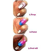 Liar Látex líquido para manicura de uñas, protección líquida y uñas decorativas * 1 (9 colores opcionales)