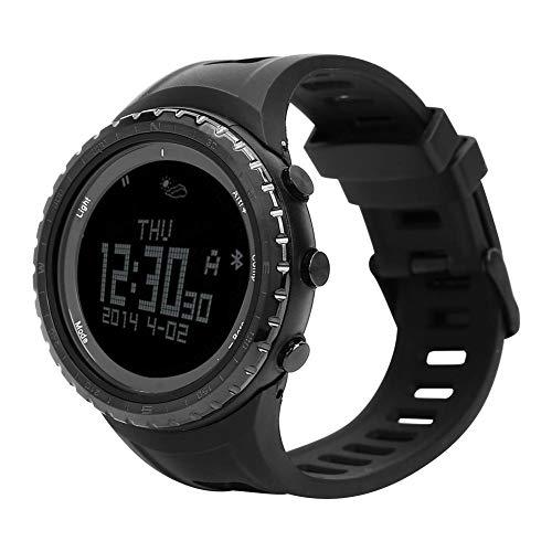 Tbest Smart Watch, FR803 Smart Digital Sport Horloge Bluetooth Stappenteller Armband Kompas Luchtdruk Temperatuur Smartwatch voor Outdoor voor Android 4.0 werkt met Apple iOS 7.0