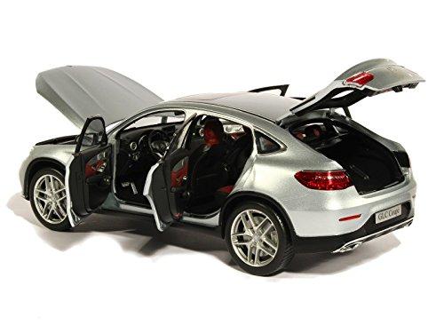 mächtig der welt Mercedes GLC Coupé (C253) Silber 0 Modell Auto Finish Modell I-iScale 1:18