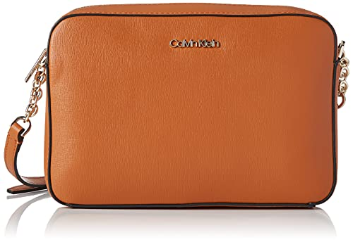 Calvin Klein CK Must, Crossovers para Mujer, coñac, One Size