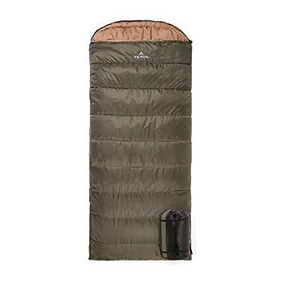 TETON Sports Regular Sleeping Bag; Great for Family Camping; Free Compression Sack