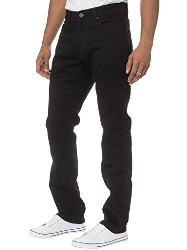 Enzo - Jeans - Homme - noir - Taille 50