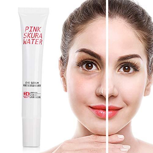 Crema para los ojos - Crema renovadora de la piel del ojo Hidratante Reafirmante Dilución Círculos oscuros Bolsas para ojos Antiedad 20ml