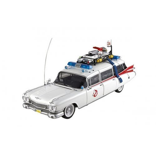 Hot Wheels Collector Ghostbusters Ecto-1 Die-cast Vehicle (1:18 Scale) by Hot Wheels