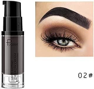 1PC 6 Colors Pencil Waterproof Lapiz Cejas Cosmetics Crayon Sourcil Natural Paint Eyebrow Gel Makeup color 02
