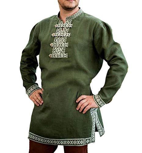 Babao Herren Mittelalterliches Kostüm Piratenkostüm Renaissance Cosplay Kostüm