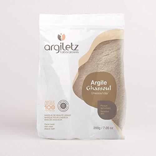 ARGILETZ Lot de 2 sachets de 200g d'argile ghassoul ultra ventilée distribué par ARCILIA