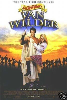 National Lampoons Van Wilder Single Sided Original Movie Poster 27x40