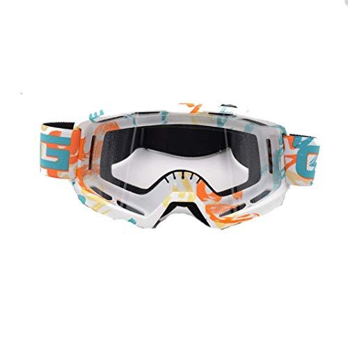 Motocicleta Gafas de conducir un todoterreno de esquí patinaje bicicleta de Motociclismo Vespa Gafas Gafas a prueba de viento a prueba de polvo lzpff (Color : C19-General)