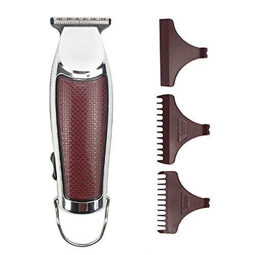 Mens Hair Clippers Professional Cordless Hair Trimmer Electric Haircut Kit oplaadbare haar snijgereedschap met 3 Guide Combs