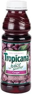 Tropicana Grape Juice, 15.2-Ounce Bottles (Pack of 12)