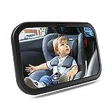 CCAUTOVIE Rücksitzspiegel für Baby Autospiegel Kinder Rücksitz Babyspiegel Auto Spiegel Baby...