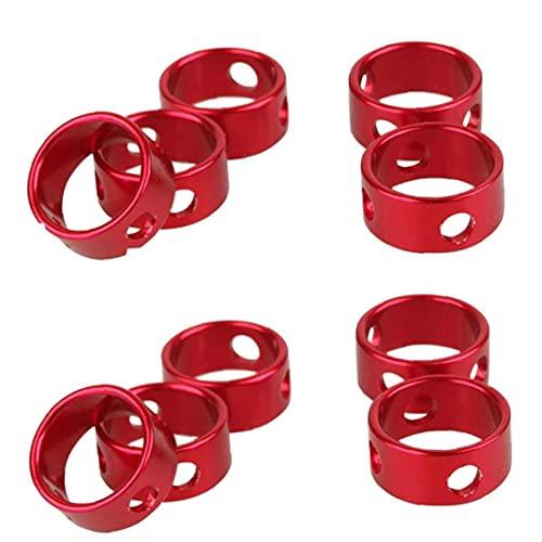 PJKKawesome Ajustador Cuerda Cuerda Viento Hebilla Tensores Cuerda Aleación Aluminio Ajustador Cordón Aleación a Prueba Viento Cuerda Viento Ropo Rojo