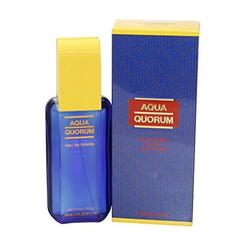 Antonio Puig Quorum Acqua Man EDT 100 ml Vapo, 1er Pack (1 x 100 ml)